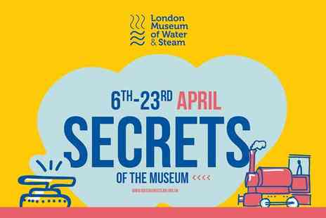 London Museum of Water - Secrets of the Museum Eggsplore, Learn & Have Fun this Easter - Save 45%