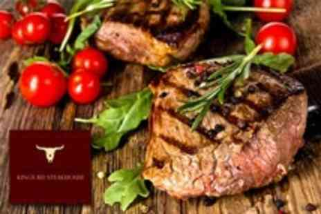 Kings Road Steakhouse & Grill - Two Course Steak Meal For Two With Champagne Cocktails  - Save 58%