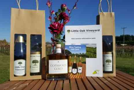 Little Oak Vineyard - Vineyard Tour, Tasting and Lunch for Two or Four - Save 52%