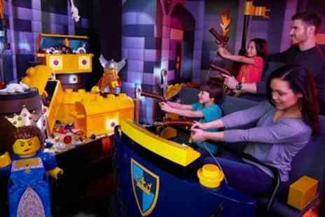 Legoland Discovery Centre - Entry for One or Two with Optional LEGO Toy - Save 44%