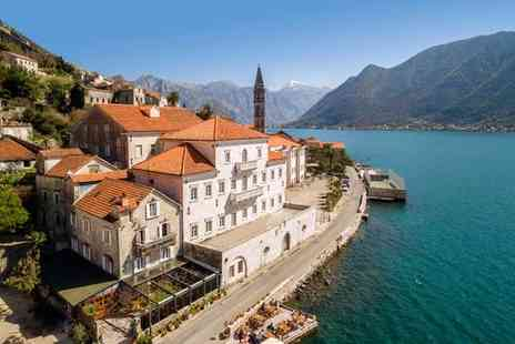 Iberostar Grand Perast - Five Star 18th Century Luxury Between a Panorama of Sea and Mountains for two - Save 67%