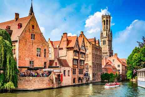 Hotel Prinsenhof - Four Star Stylish Stay in Bruges with Optional Brussels Stopover for two - Save 43%