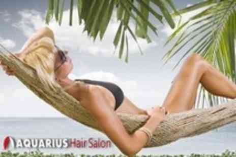 Aquarius Hair Salon - Full Body Spray Tan - Save 55%