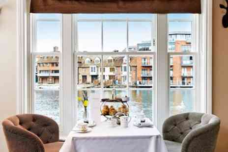 Sir Christopher Wren Spa - Riverside afternoon tea, massage and facial in Windsor - Save 36%