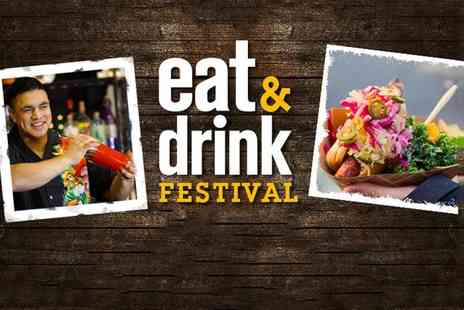 Media 10 - Two tickets to the Eat and Drink Festival - Save 66%