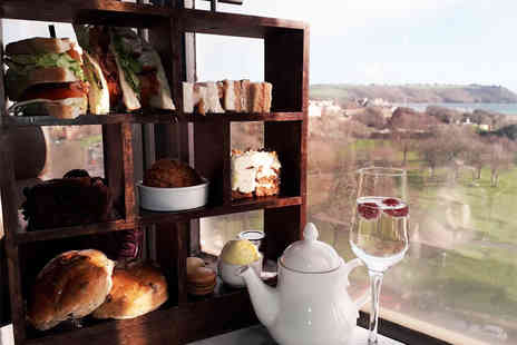 Marco Pierre White - Spring afternoon tea for two people with a glass of Prosecco each - Save 0%