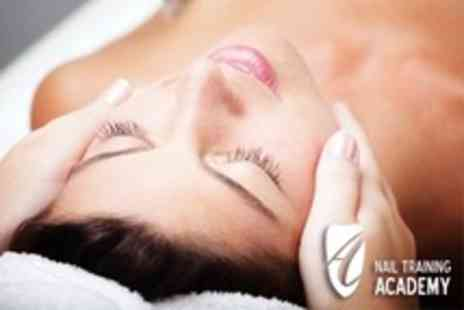 Nail Training Academy - One Day Facial Treatments Beauty Course - Save 73%