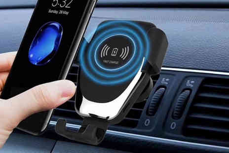 Wow What Who - Qi wireless car charger - Save 62%