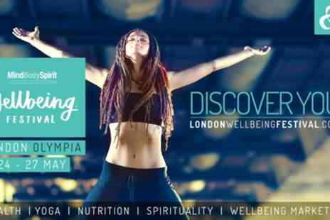 Mind Body Spirit - Two Tickets to Festival From 24th To 27th May - Save 58%