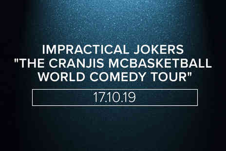 Virgin Experience Days - Seasonal Dining with Wine and Tickets To Impractical Jokers The Cranjis McBasketball World Comedy Tour for Two - Save 0%