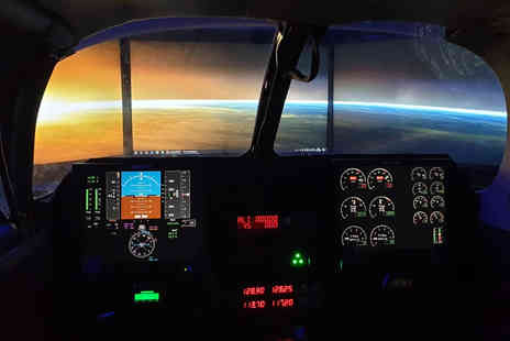 Virgin Experience Days - Private Jet Flight Simulator 60 Minutes - Save 25%