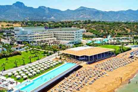 Cyprus Paradise - Five star beachfront holiday with room upgrade - Save 0%
