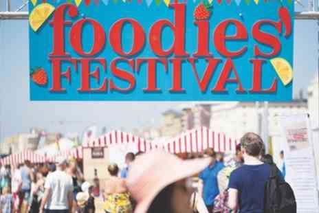 Foodies Festival - One, two or four tickets from 25th To 27th May 2019 - Save 50%