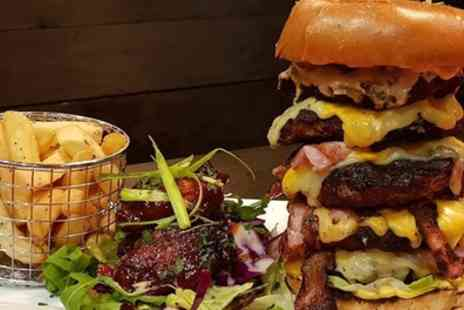 Kabels Steakhouse - Burger, Fries and Beer for One or Two - Save 43%