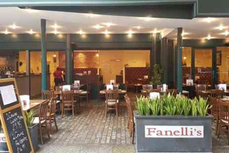 Fanellis - Two Course Italian Meal for Two or Four - Save 52%
