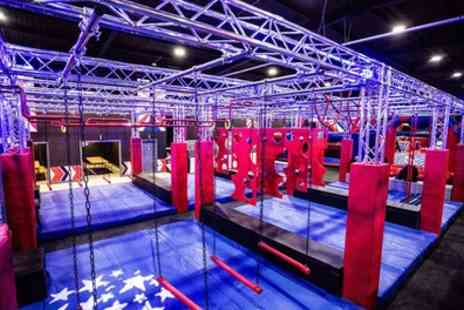 Ninja Warriors - Entry to Adventure and Inflatable Park for Up to Four - Save 30%