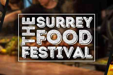 All In One Events - Surrey Food Festival A Feast of Fun for All Ages Kids Go Free - Save 40%