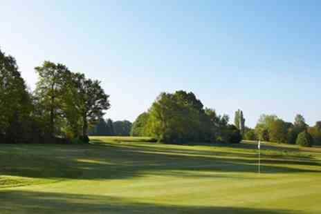 Lingfield Park Marriott Hotel - 18 holes of golf for two people with a hot drink each - Save 69%