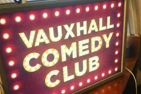Vauxhall Comedy Club - Comedy club entry with a pint of beer or glass of wine for two people - Save 52%