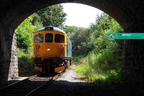 Ecclesbourne Valley Railway - One day Peak District train tour for one person - Save 38%