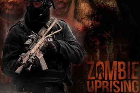 Zombie Uprising - Single Ticket from 6th April To 15th June - Save 22%