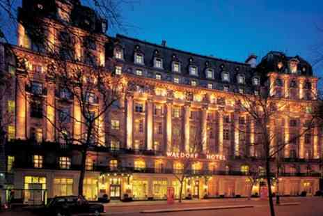 The Waldorf Hilton - Three Course Meal with Prosecco for Two or Four - Save 44%