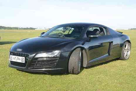 Supercar Test Drives - 3 lap Audi R8 v10 supercar driving experience on a weekday - Save 77%