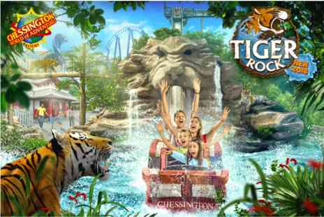 Chessington World of Adventures Resort - Family Visit and Lunch for Two Adults and Two Children - Save 0%