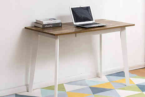 Meriden Furniture - Retro wooden desk with drawer - Save 54%