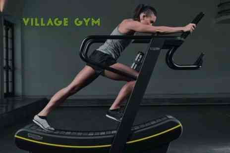 Village Gym - Ten Gym, Swim and Fitness Passes - Save 65%