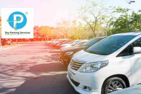 Sky Parking Services - Up to 35% Off Meet and Greet, Park and Ride and Other Airport Parking - Save 0%