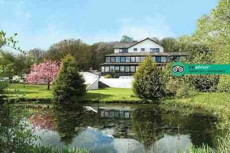 Damson Dene Hotel - Overnight Lake District break for two people with breakfast, three course dinner, glass of Prosecco and leisure access - Save 48%