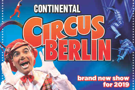 The Extreme Stunt Show - Grandstand ticket see the Continental Circus Berlin - Save 50%