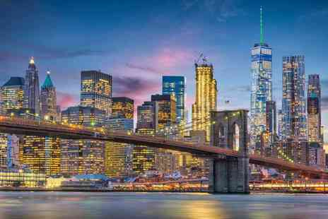 Worldwide Tours and Travel - Three nights New York city getaway with return flights - Save 25%