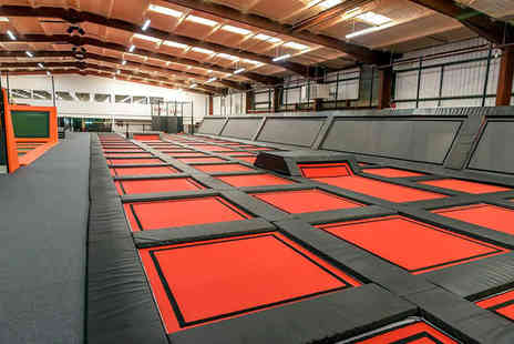 Adrenaline International - One hour open jump session - Save 40%
