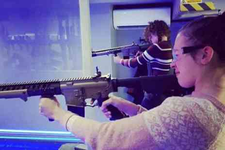 Alpha Guns London - Air Soft Shooting Range Package or Adults Advanced Air Soft Shooting Range Package - Save 31%