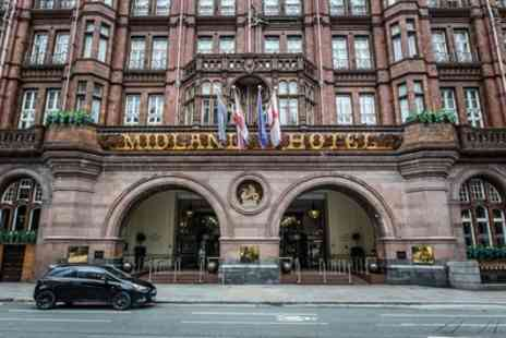 The Midland Hotel - Champagne Afternoon Tea for Two or Four - Save 34%