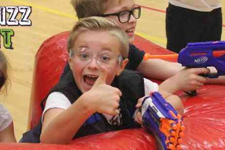 WhizzFit - Kids Holiday Clubs in Tooting, Horsham and Tolworth Nerf Wars, Dodgeball and A Morning of Games- Save 20%