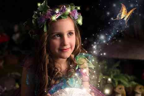 Nicola Bald Photography - One hour fairy or elf photoshoot including an A4 presented print and digital image - Save 91%