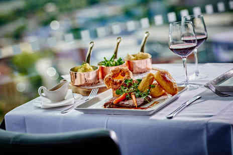 Marco Pierre White Steakhouse Bar & Grill - Two course Sunday lunch with a glass of wine each - Save 36%