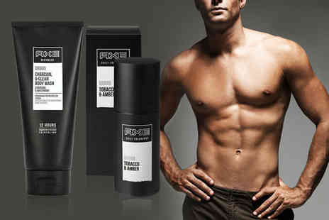 Price Buster - Axe Urban body wash and spray set - Save 54%