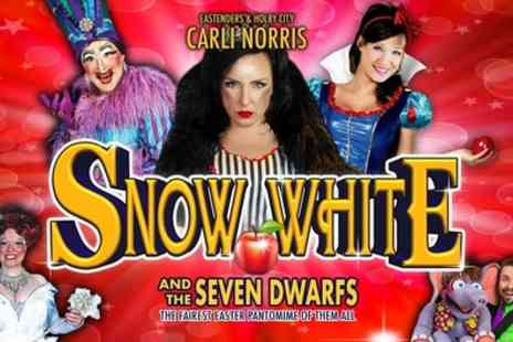 Snow White and The Seven Dwarfs - One  ticket from 10th To 13th April - Save 33%