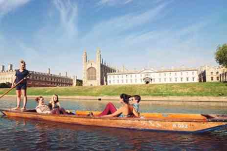 Scudamores Punting Company - Two Hour or Full Day Punt Hire for Up to Six - Save 55%