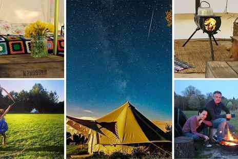 Mannington Hall Camping - Ambers Bell Tent Glamping Relaxing Family Breaks - Save 43%