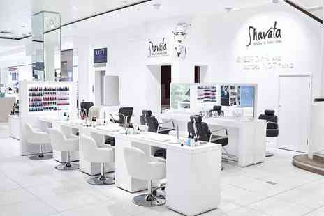 Shavata Brows Studios - Manicure or pedicure - Save 40%