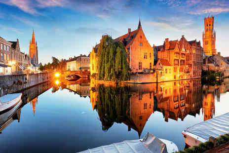 Short Break - Overnight Bruges city break with return Eurostar and breakfast - Save 29%