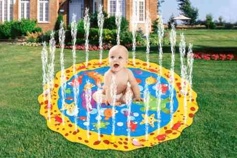 Wow What Who - Inflatable childrens sprinkler splash mat - Save 70%
