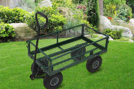 Who Needs Shops - Heavy duty metal gardening trolley - Save 61%