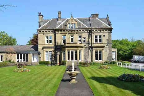 Durker Roods Hotel - Overnight Yorkshire country house stay for two people with a glass of wine each and breakfast - Save 51%