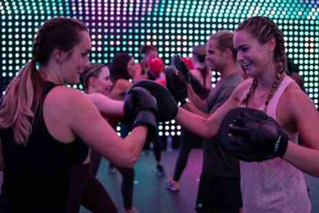 New Motion - Five or Eight Sessions of Boxing, HIIT, Yoga or Rave Fit Classes with Live DJ - Save 72%